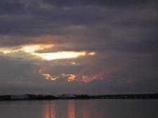 Sunrise over Mack Point