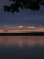 Sunrise over Sears Island