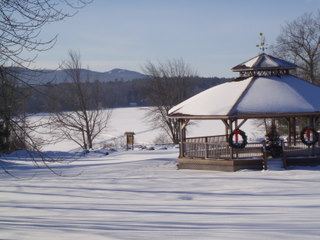 Pavillion at Megunticook Lake