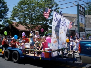 The 4th July Float
