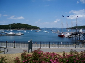 Lunch at Bar Harbor