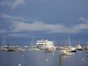 Belfast Harbor...an Elder Hostel Cruise ship