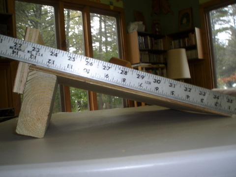 Measured in inches