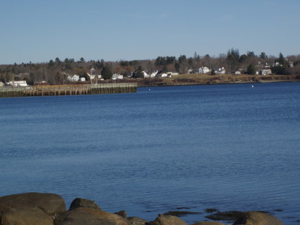 The far side of Searsport Harbor
