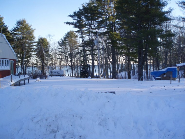 Almost 3 feet of snow in one storm, yippee!
