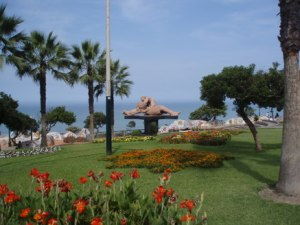 The Park of Love in Lima, Peru's capital
