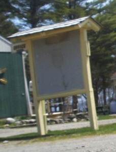 The old message board