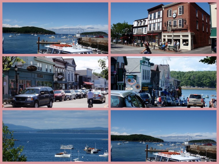 Ken and Dad drove down to Bar Harbor for lunch