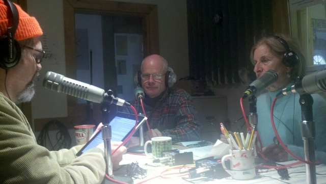 Radio Call in Show with activist friends MJ and Peter...about the tank of course