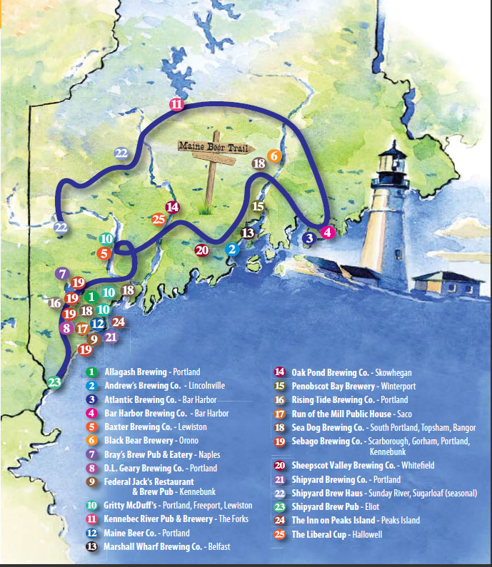 Maine Beer Trail
