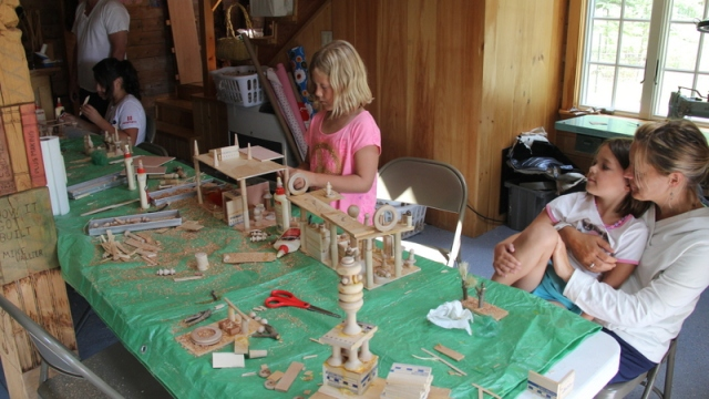 Woodblock Buffet Creations with Artist in Residence Blake Hendrickson