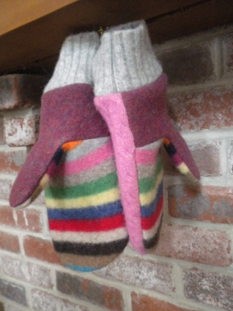 Sweaters for your hands by Ellen Mason