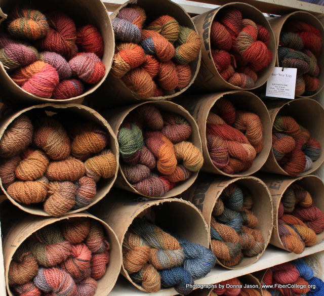Can you think of a better souvenir the Wind Spun yarn from Hope Spinnery?