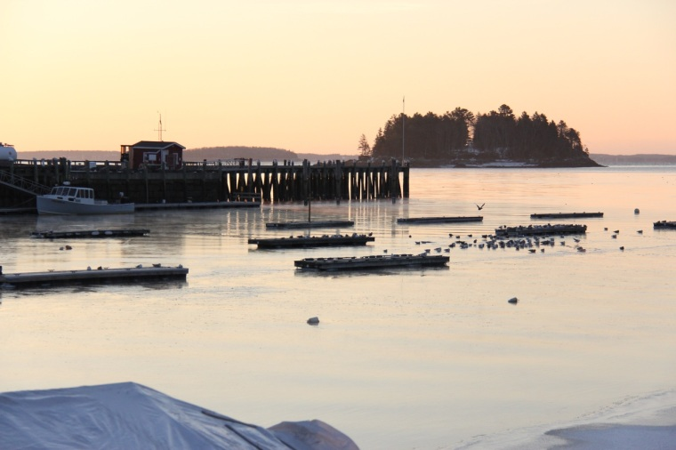 Islesboro Harbor at Sunrise