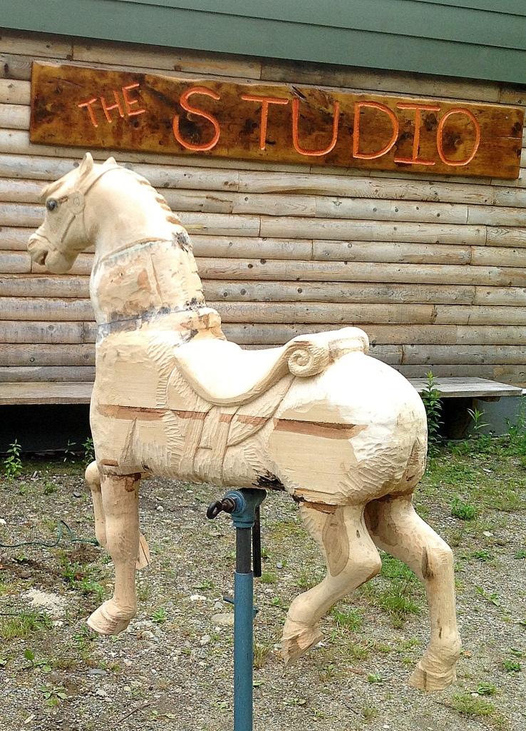Elizabeth's Carrousel Horse