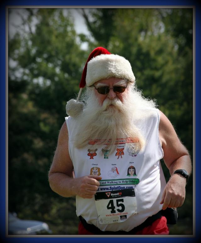 Santa Steve the Marathon Man