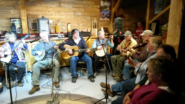 The first annual Old Time String Band Meet Up...next year watch for details, end of September 2016