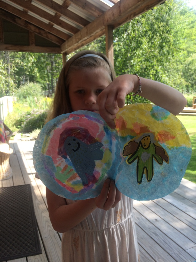 sun, fun, sun catchers, art, kids, love, happy